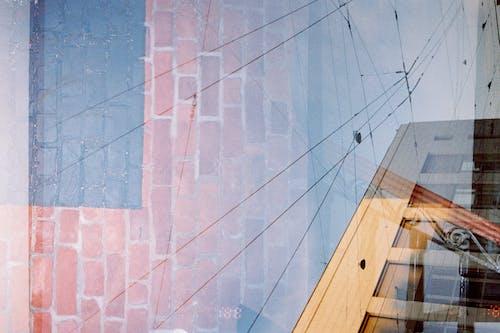 Základová fotografie zdarma na téma 35mm, architektura, budova, cihlová stěna