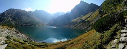 Základová fotografie zdarma na téma cestování, hory, jezero, klid