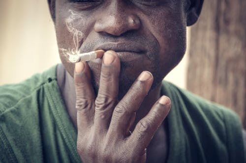 Free stock photo of cigarette, danger, fumee, homme