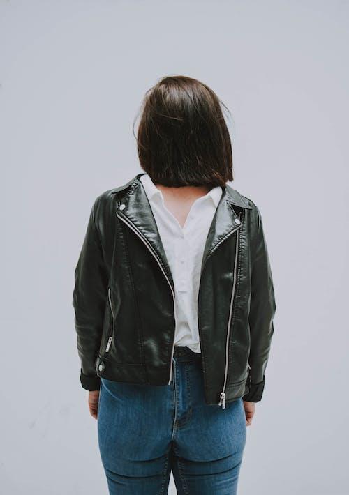 Photo Of Woman Wearing Black Jacket