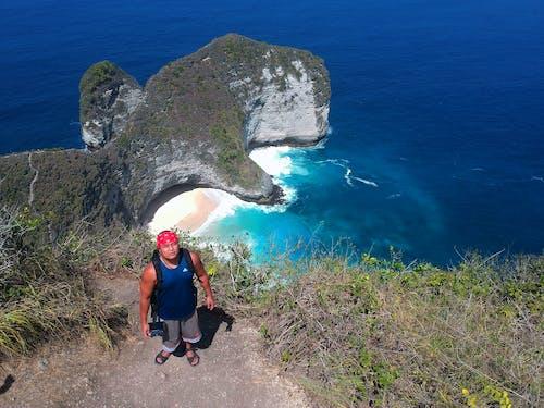 bali, Endonezya, kelingking plajı, nusa penida içeren Ücretsiz stok fotoğraf