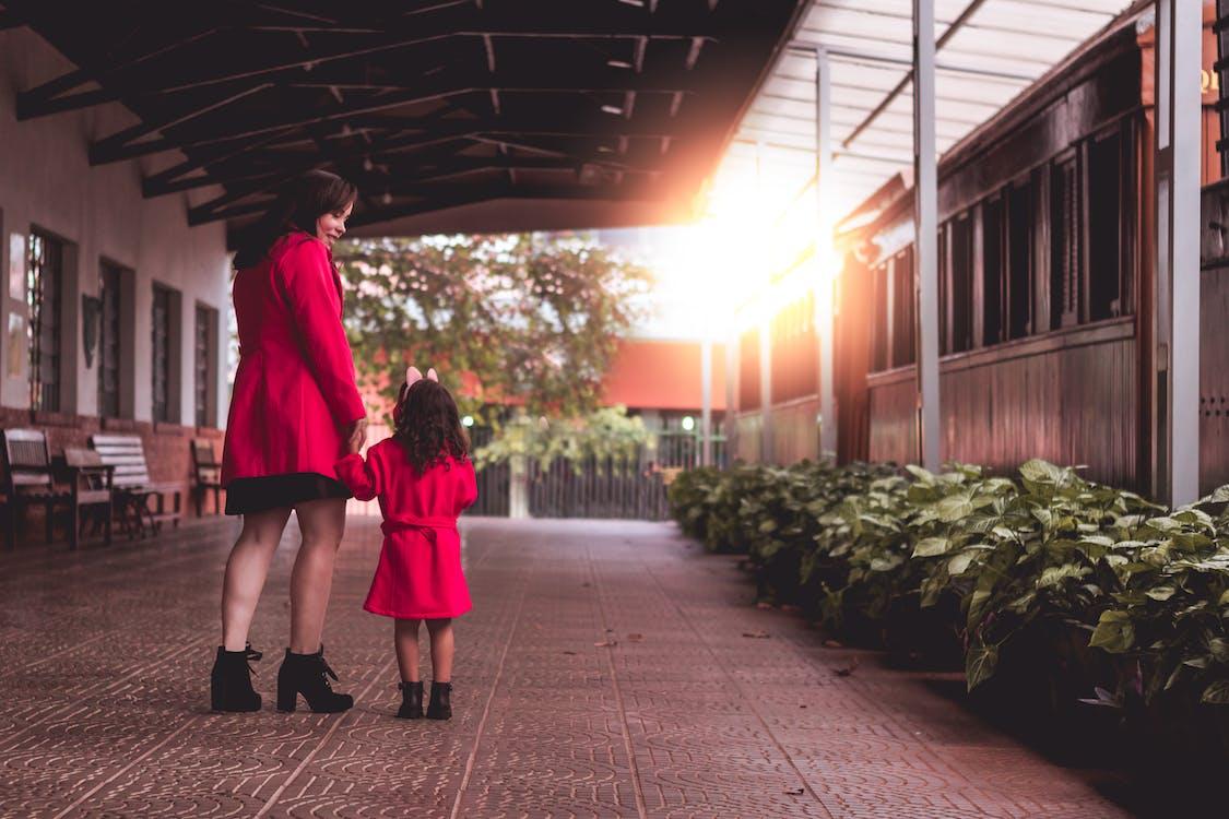 ao ar livre, arquitetura, criação dos filhos