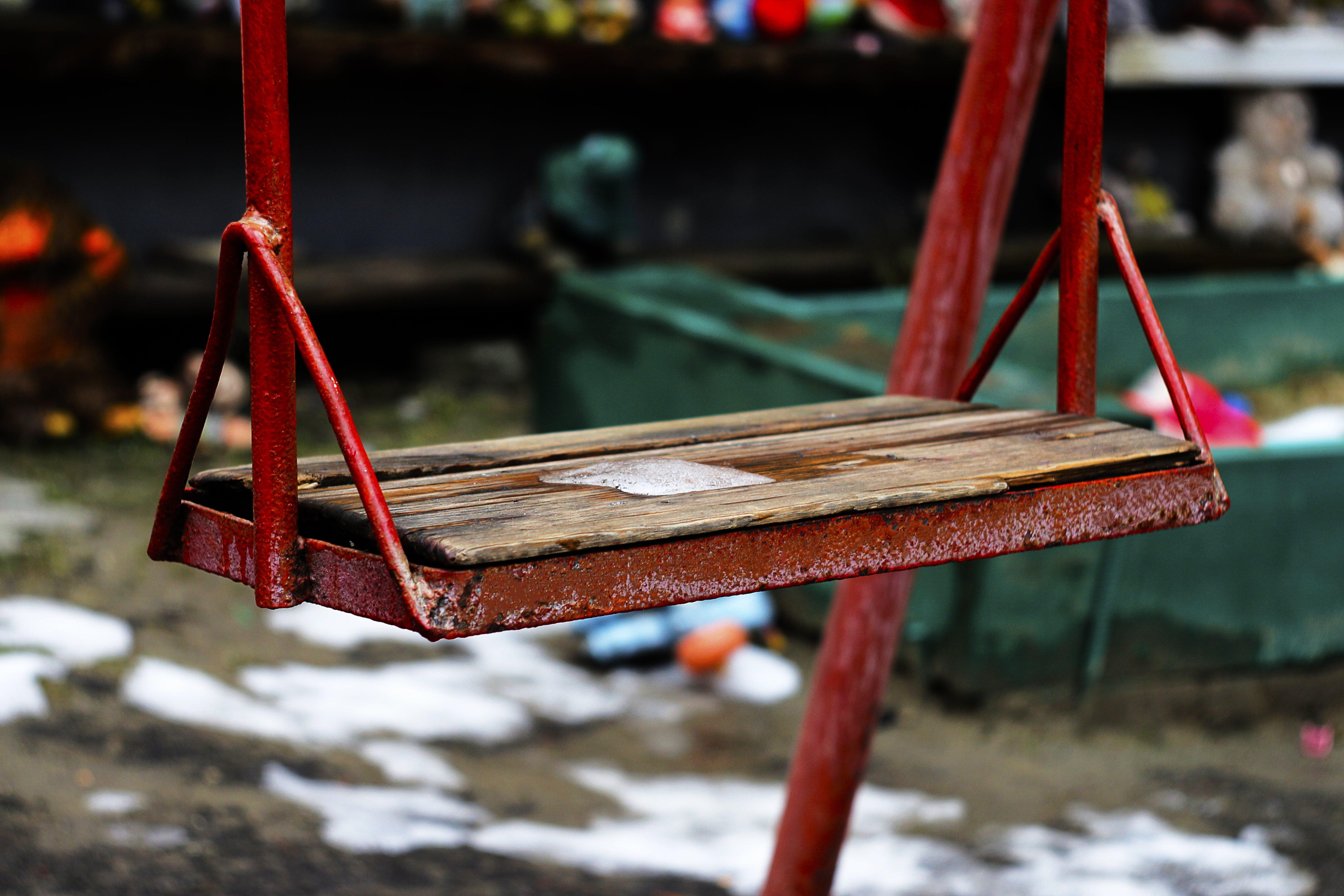 Free stock photo of metal, blur, rustic, chair