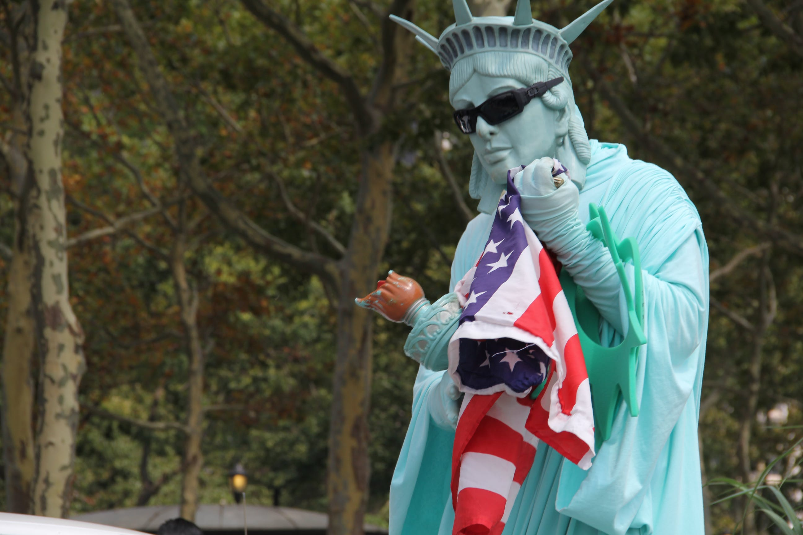 Free stock photo of New City Symbol, Statue of liberty model, statues