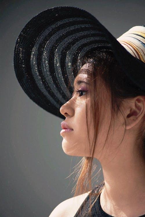 中國人, 中國女孩, 亞洲模特, 側面輪廓 的 免費圖庫相片