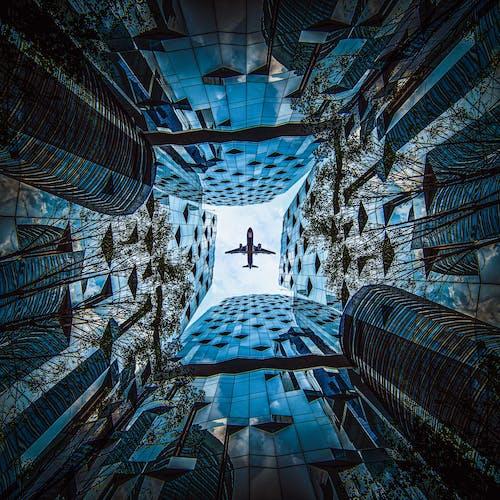 Fotobanka sbezplatnými fotkami na tému lietadlo, mesto, Mexiko