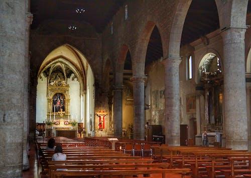 Ingyenes stockfotó belső, építészet, templom, történelmi témában