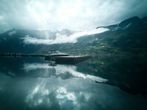 Foto profissional grátis de ambiente, azul, conhecimento, fiorde