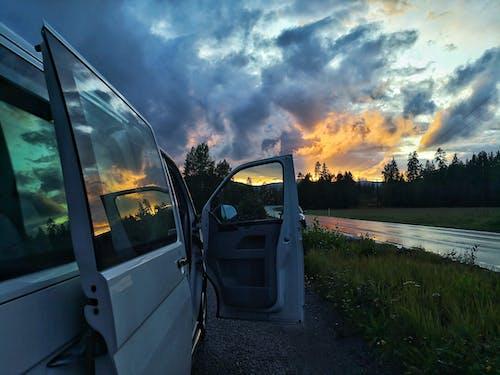 Foto profissional grátis de ambiente, árvores, autobus, automóvel