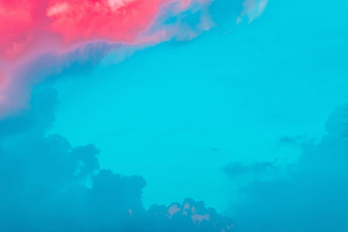blau, cel, natura