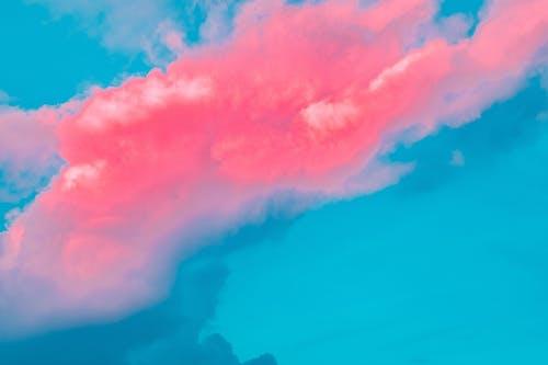 Darmowe zdjęcie z galerii z chmury, niebieski, niebo, pękać