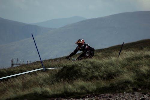 マウンテンバイク, レーシング, レース, 速いの無料の写真素材