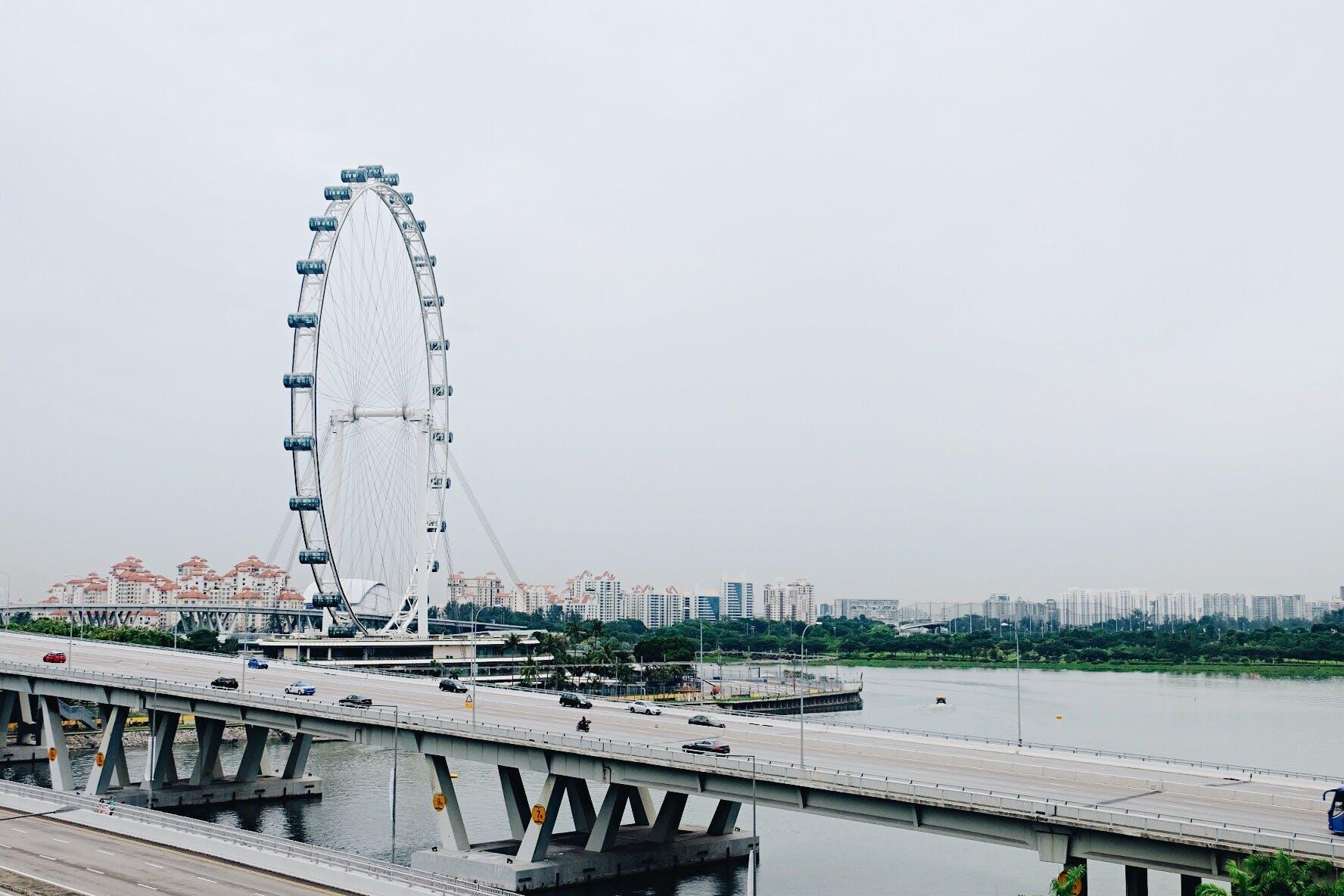 architecture, boat, bridge