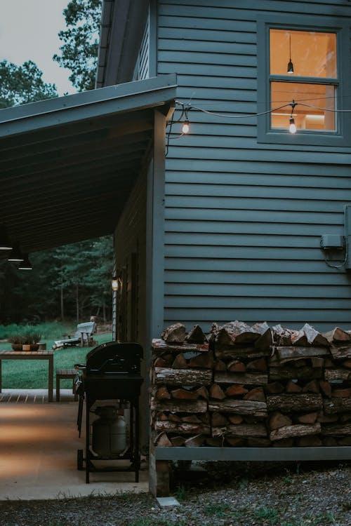 ev, yakacak odun, yuva içeren Ücretsiz stok fotoğraf