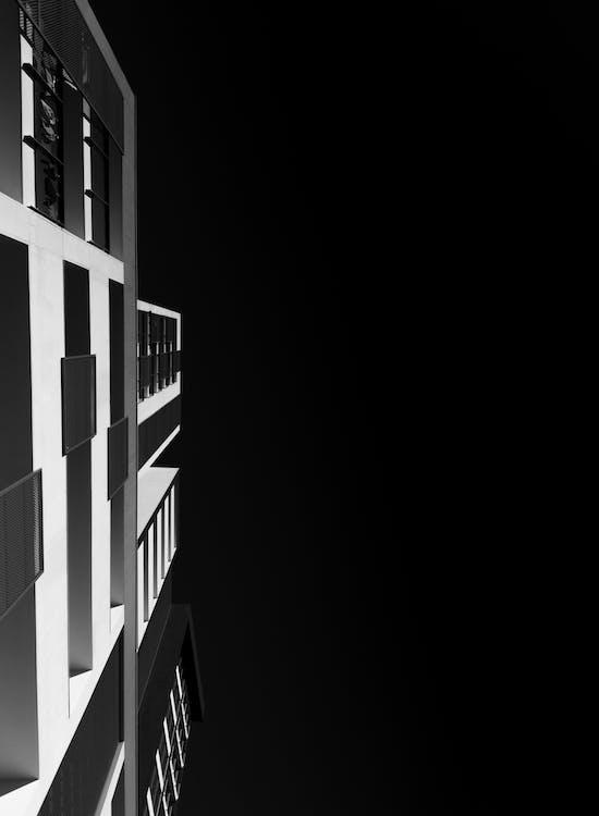 architektur, aufnahme von unten, froschperspektive
