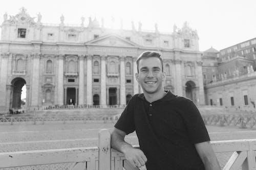 おとこ, ほほえむ, イタリア, ポージングの無料の写真素材