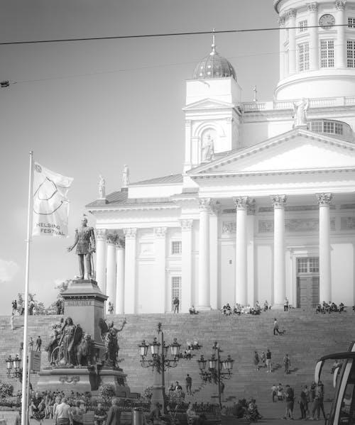 Бесплатное стоковое фото с здание, кафедральный собор, неясно, статуя