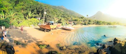 Бесплатное стоковое фото с гавань, голубая вода, джунгли, дневной свет