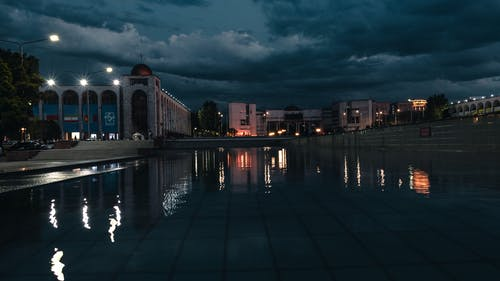 Free stock photo of after sunset, architecture, bishkek