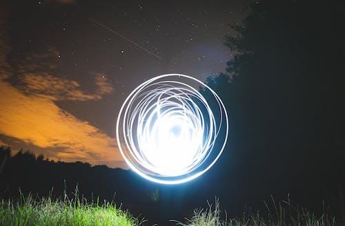 Foto profissional grátis de câmera, cena noturna, Céu escuro, céu estrelado