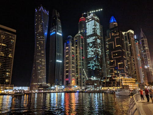 Free stock photo of cityscape, dubai, Dubai Marina