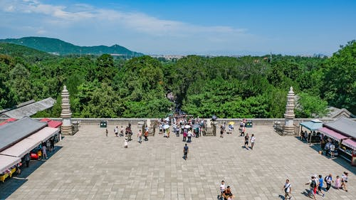 中國建築, 地標, 外觀, 天空 的 免费素材照片