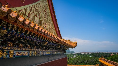 Foto d'estoc gratuïta de a l'aire lliure, antic, arquitectura, Arquitectura asiàtica