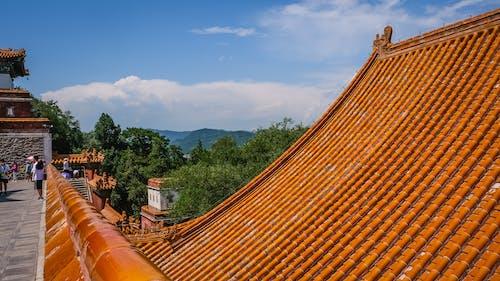 Foto stok gratis Arsitektur, arsitektur cina, atap, bangunan terkenal