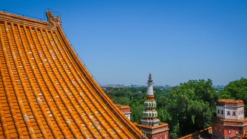 Immagine gratuita di alberi, architettura, Architettura asiatica, architettura cinese