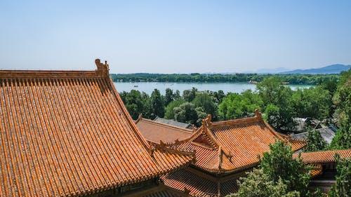Fotos de stock gratuitas de agua, al aire libre, arquitectura, arquitectura china
