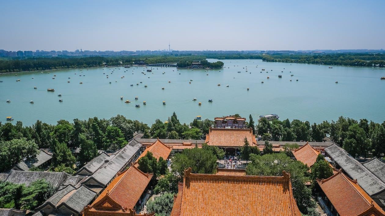 architektur, architekturdesign, asiatische architektur