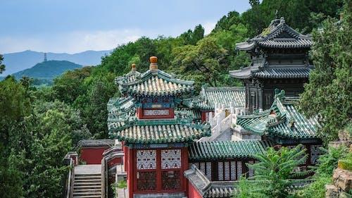 Immagine gratuita di alberi, antico, architettura, Architettura asiatica