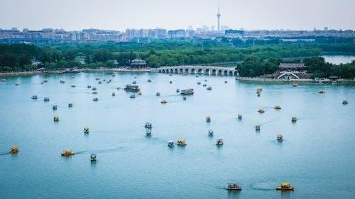 Kostnadsfri bild av arkitektur, båtar, bro, brygga