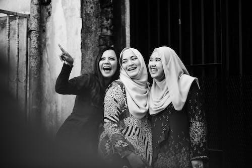 Monochrome Foto Van Vrouwen