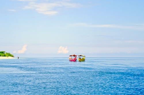 Бесплатное стоковое фото с активный отдых, бирюзовый, вода, водный транспорт