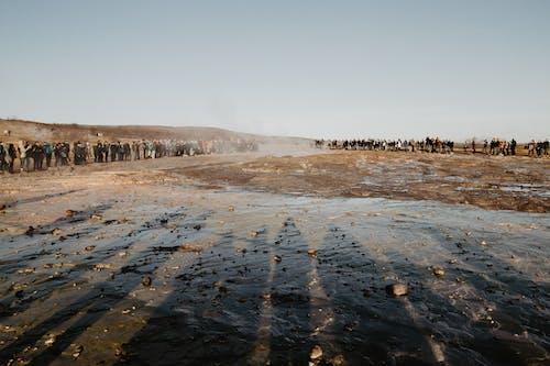 Foto profissional grátis de água, amontoado, areia, deserto