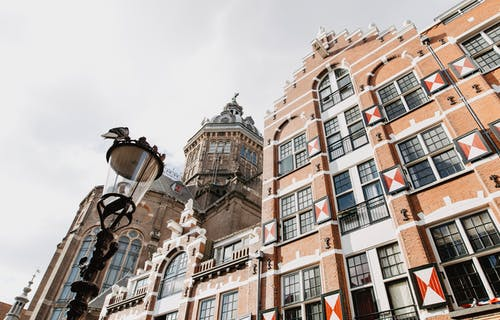 Foto profissional grátis de Amsterdã, canal, capela, Europa