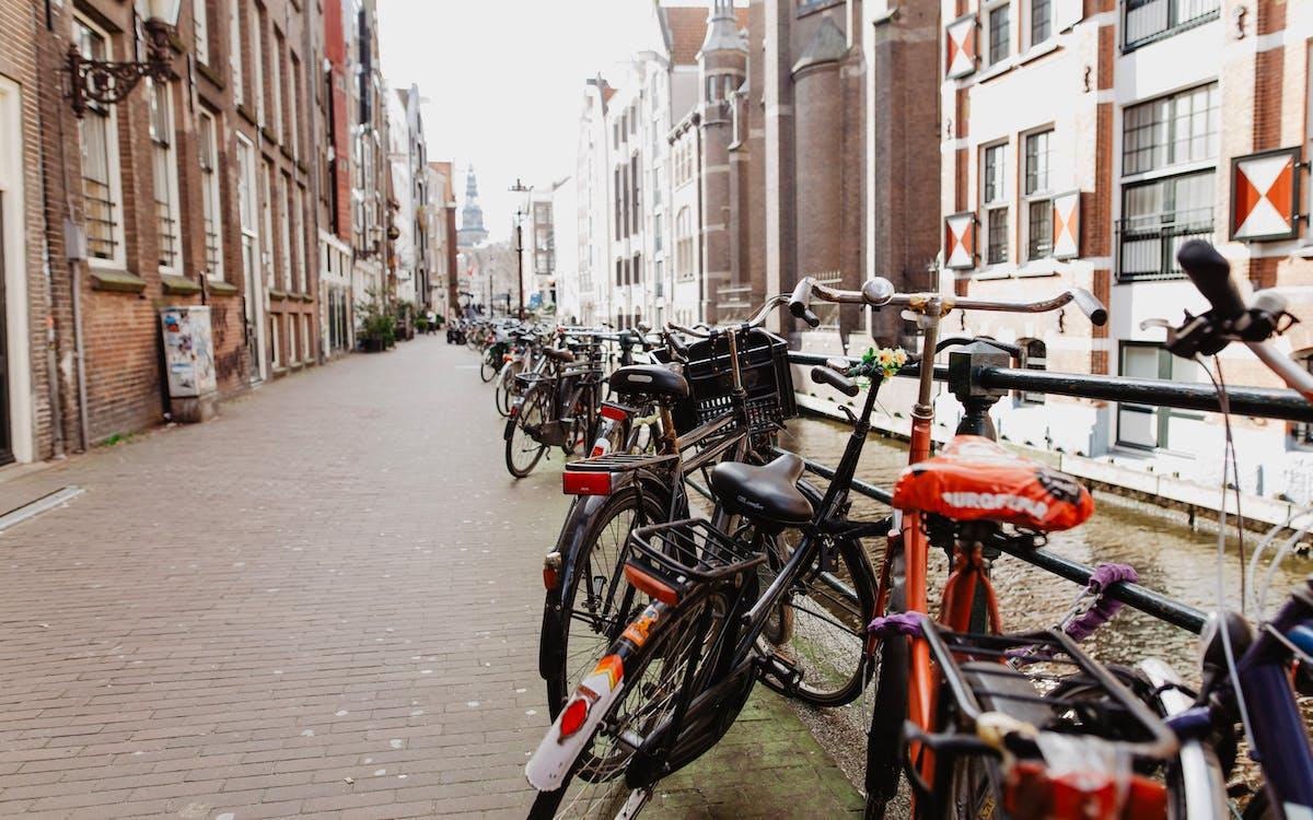 Amsterdã, Amsterdam, bicicletas