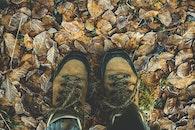 person, feet, dry
