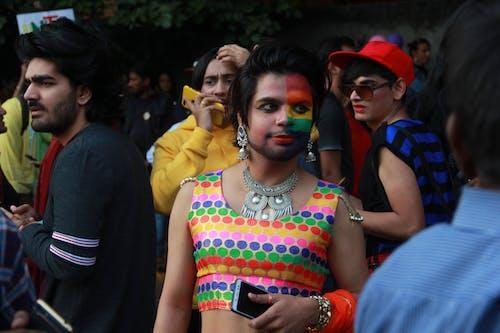 Ilmainen kuvapankkikuva tunnisteilla asu, delhi, festivaali, Gay Pride