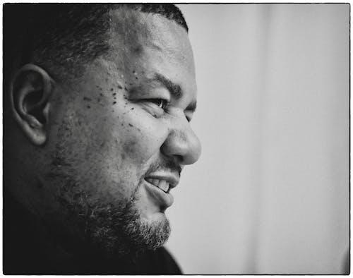 Free stock photo of black man, face expression, fujifilm, gaze