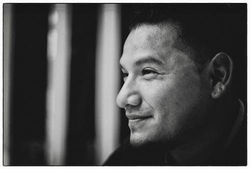 Free stock photo of fujifilm, latino, man bun, portrait