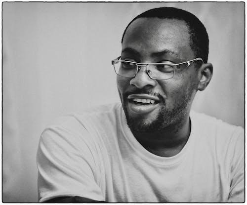 Free stock photo of black man, eyewear, fujifilm, portrait
