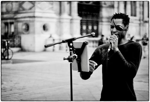 Free stock photo of fujifilm, singer, street artist, street photo