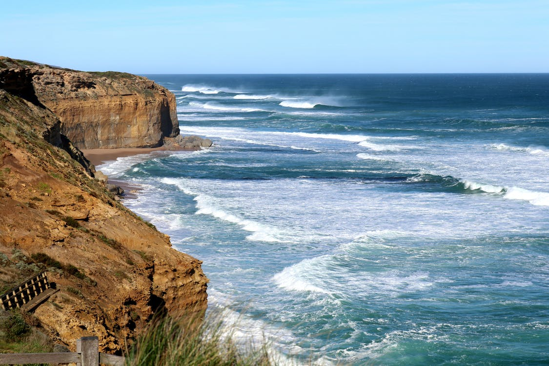 cliff edge, กระเพื่อม, กลางแจ้ง