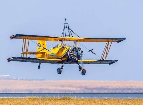 Free stock photo of aircraft, aircraft propellers, aircraft wings, biplane