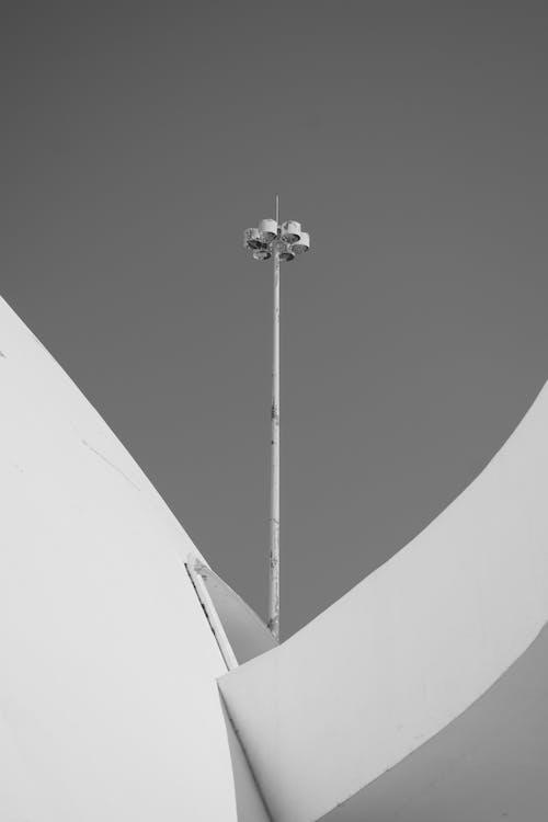 Photos gratuites de architecture, contre-plongée, haut, mât