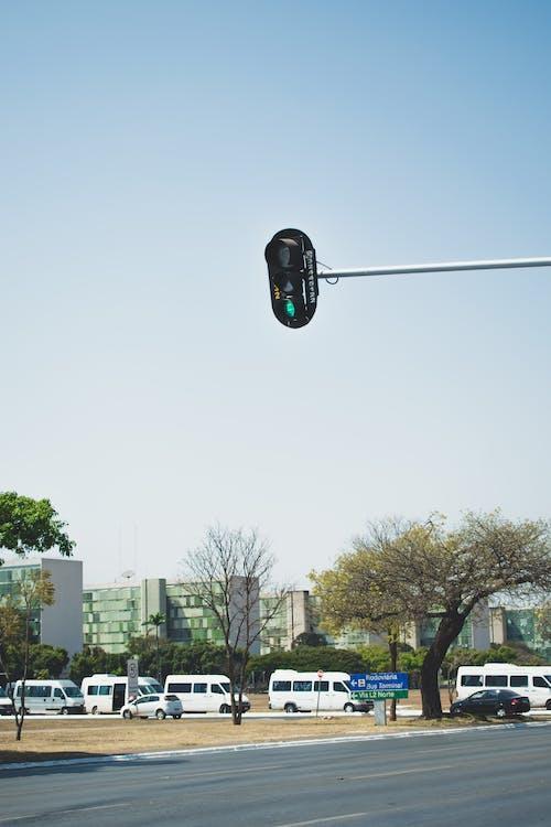 교통, 도로, 신호등의 무료 스톡 사진