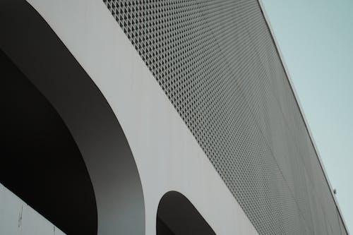 건물 외장, 건축, 로앵글 촬영, 로우앵글 샷의 무료 스톡 사진