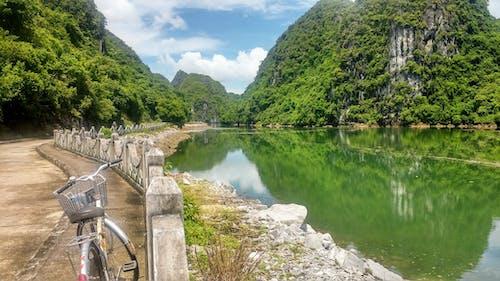 คลังภาพถ่ายฟรี ของ จักรยาน, ภูมิทัศน์ที่สวยงาม, หมู่บ้านไวไทย, อ่าวฮาลอง